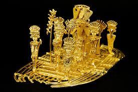 El Dorado, Altın Adam efsanesi