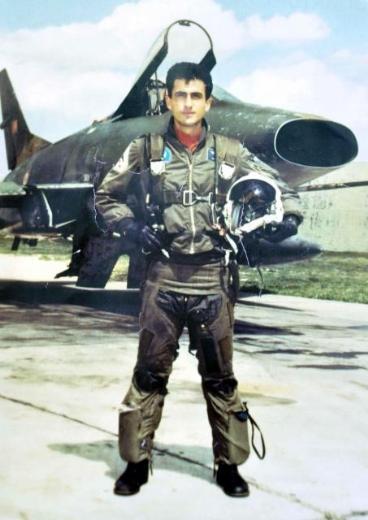1996, Ege denizinde düşürülen Türk Savaş Uçağı